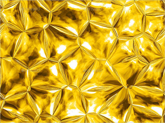 Seamless Gold Textures Design