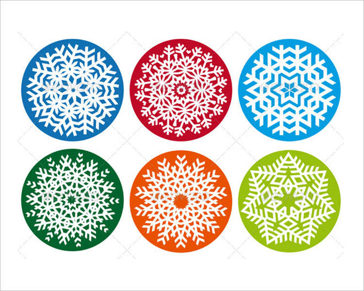 snowflake-vector-element-designs