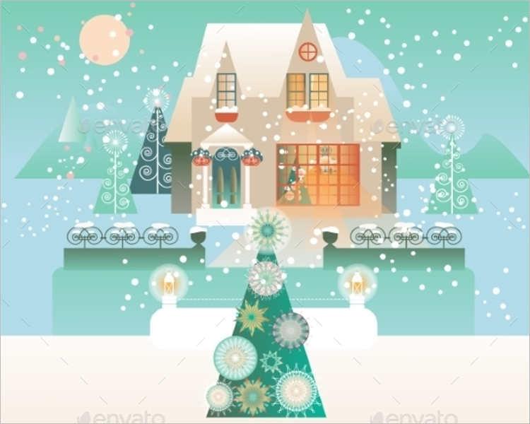 snowflake-vector-vintage-design