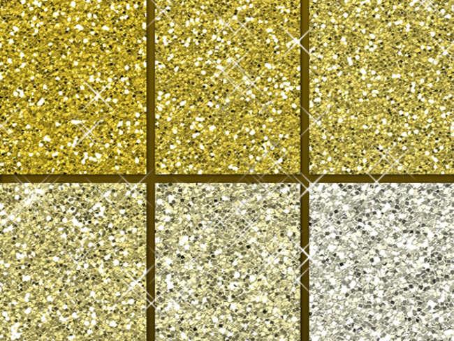 Sparkle Gold Glitter Patter