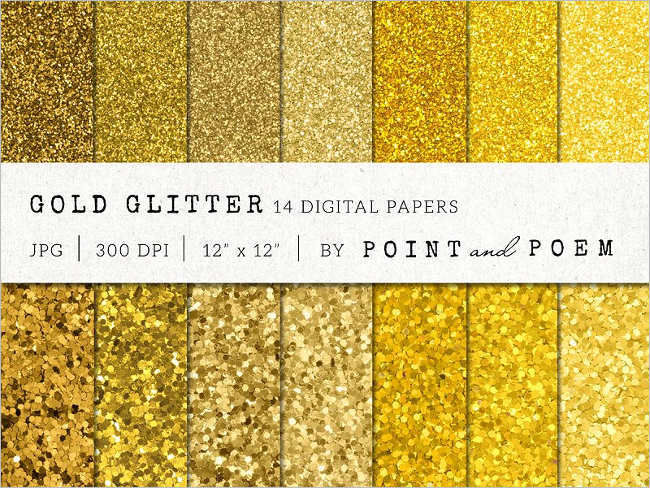 Sparkle Gold Texture Design