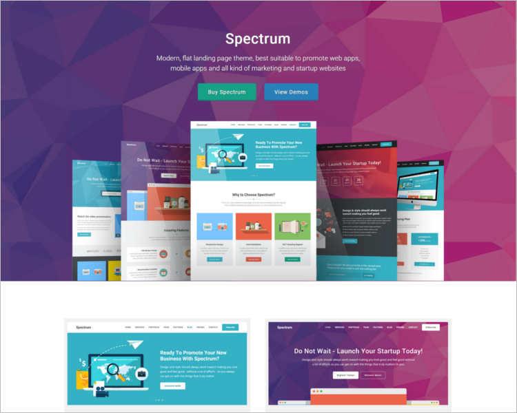 spectrum-marketing-landing-page-templates