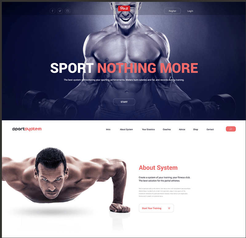 SportSystem-Excellent-Template