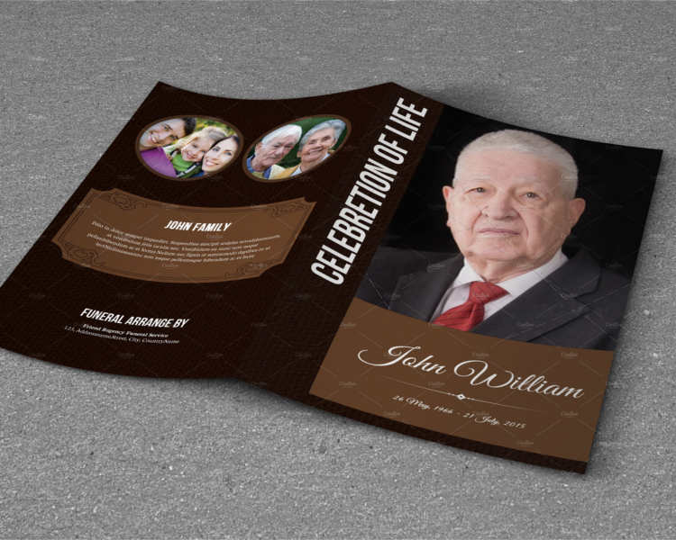 57 funeral program templates free word pdf psd doc samples