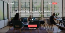 Startup Landing Page Templates