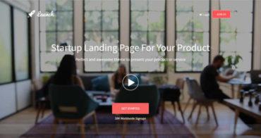 startup-landing-page-templates