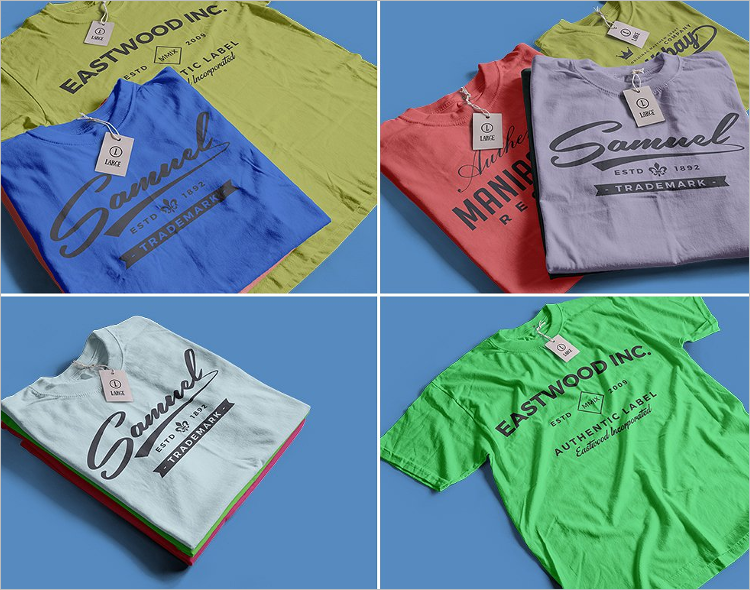 T-Shirt Mockup Elegant Design