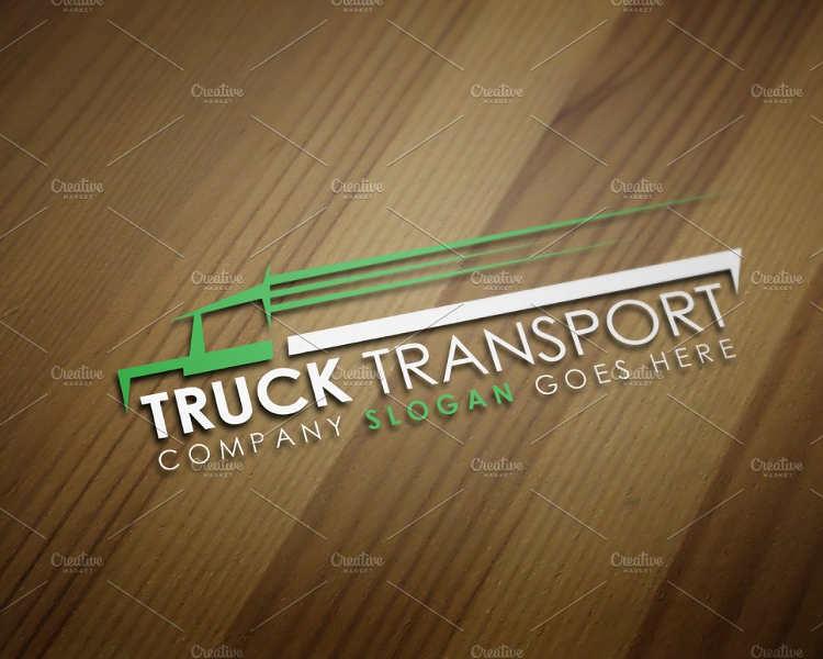 truck-transport-logo-design