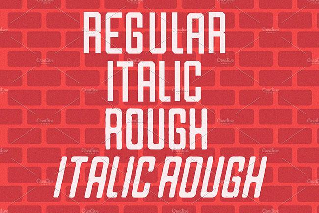 Varsity Font Genator design