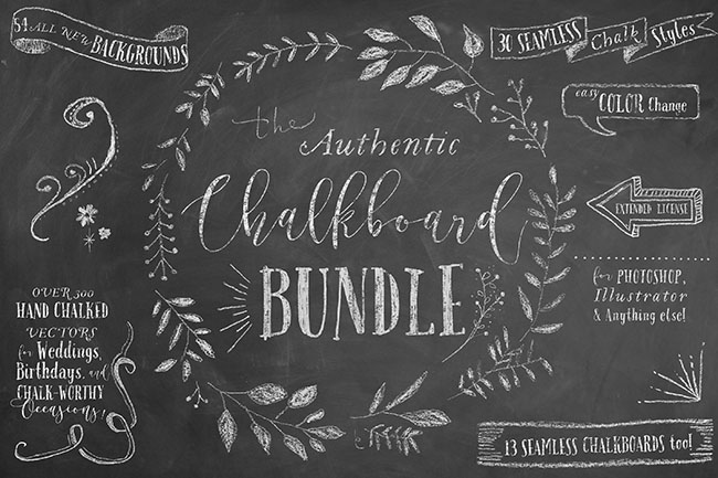 Vector Chalkboard Background