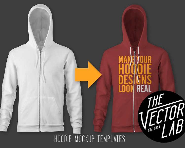 Vector Hoodie PSD Mockup