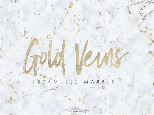 Veins Marble Gold Texture