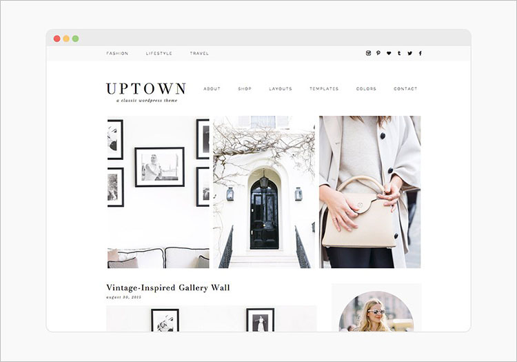 Vintage WordPress Theme Templates