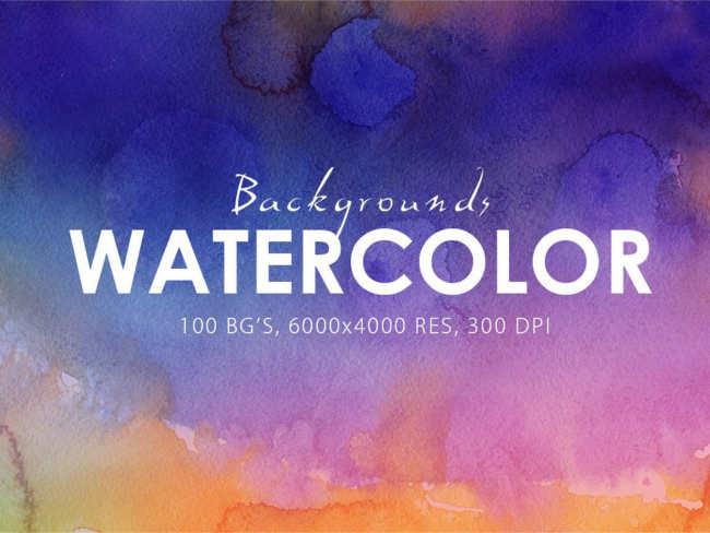Watercolour Background paper Texture