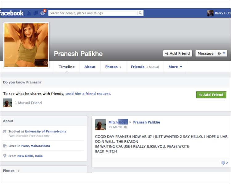 Women Profile Facebook Templates