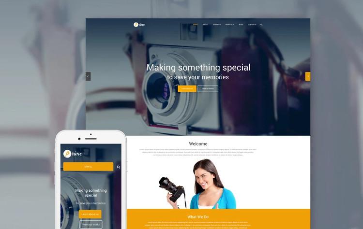 WordPress Photography Design & Portfolio Themes