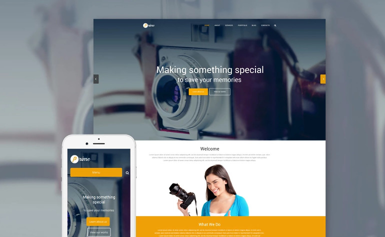 WordPress Photography Design & Portfolio Themes