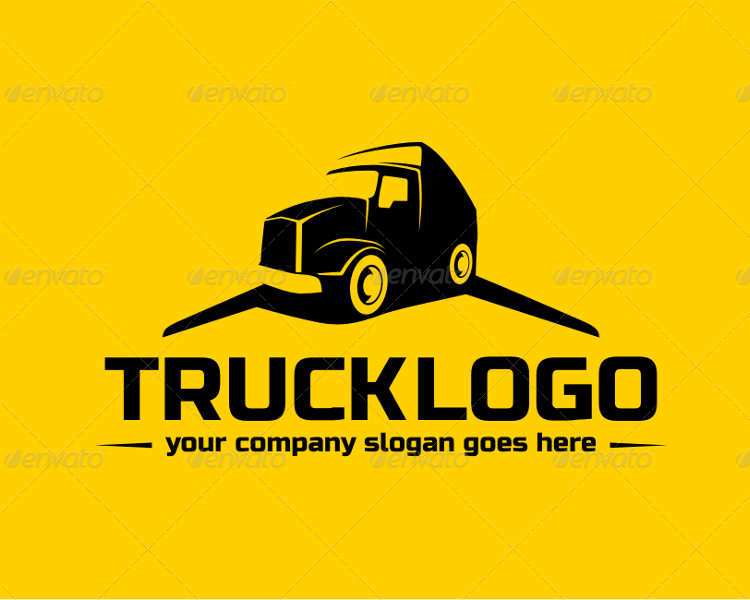 work-truck-logo-templates-design