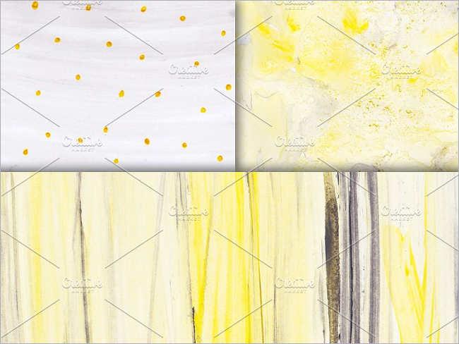 Yellow Gray Watercolor Texture Design