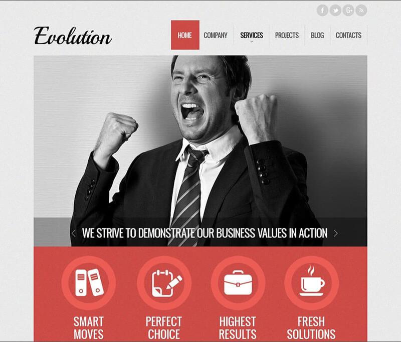 ad Agency Website Theme