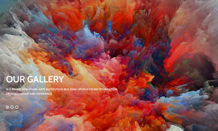 Art Gallery WordPress Themes Premium