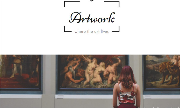 Art Gallery WordPress Themes