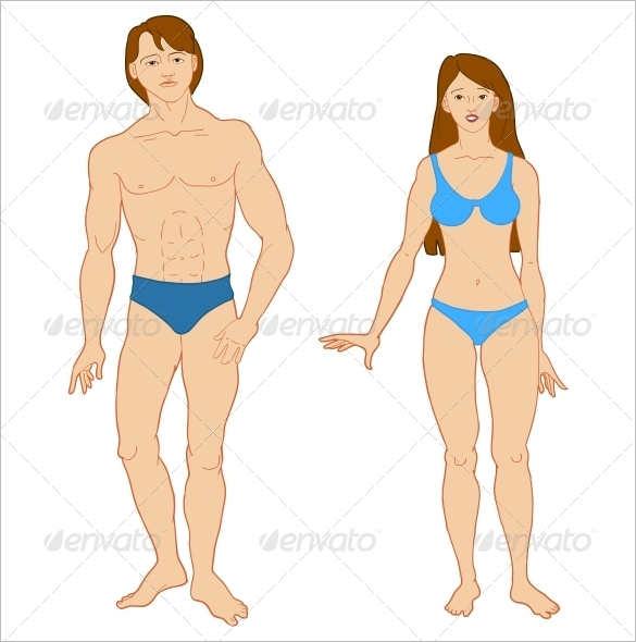 body outline template printable