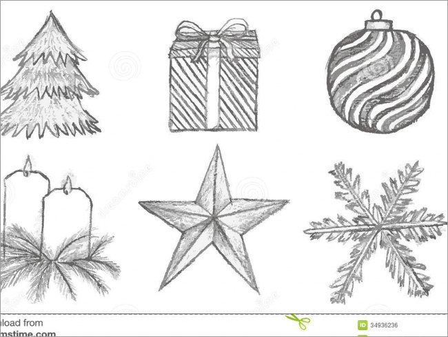 Cardstock Christmas Pencil Templates 47 Recollections Paper