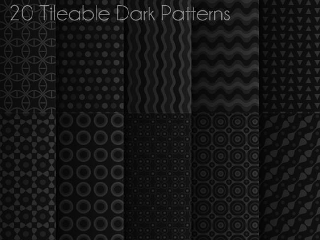 dark photoshop patterns 10
