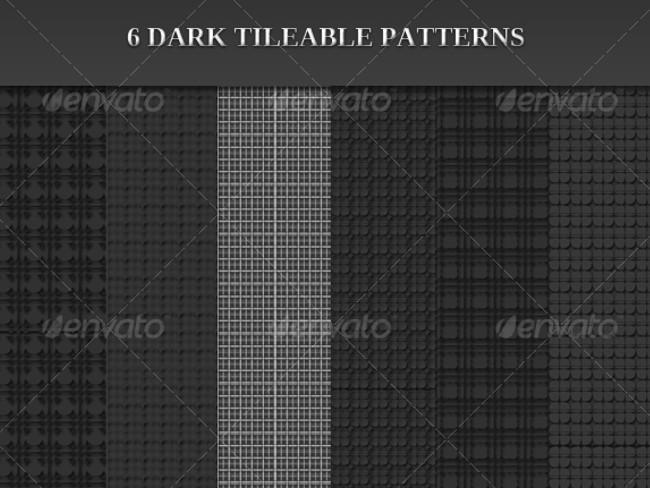 dark photoshop patterns 11