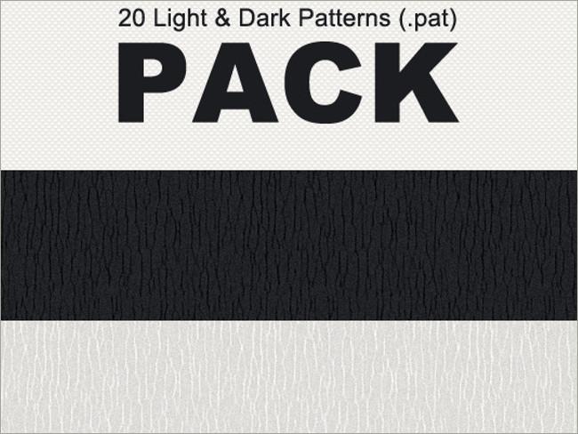 dark photoshop patterns 22