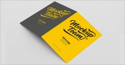 36+ A5 Brochure Mockups PSD Free Download