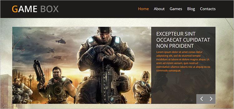 game analysis Theme Templates