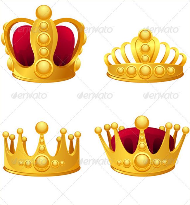 gold crown pattern 1