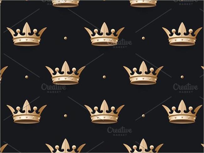 gold crown pattern 10