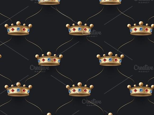 gold crown pattern 11