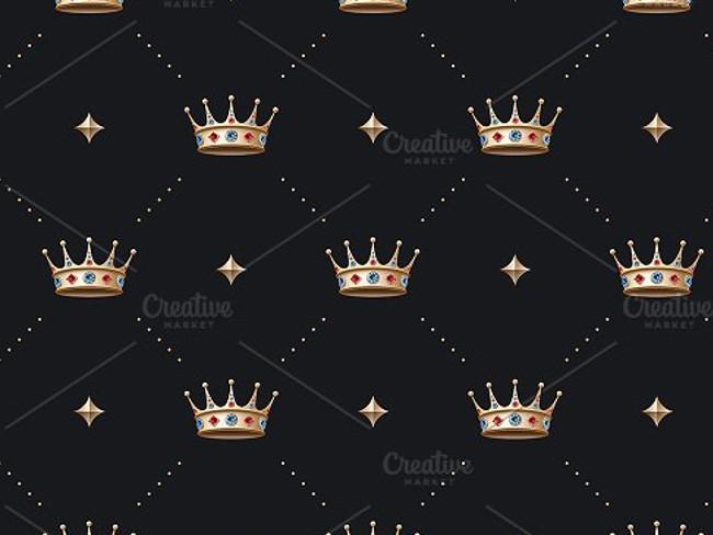 gold crown pattern 12