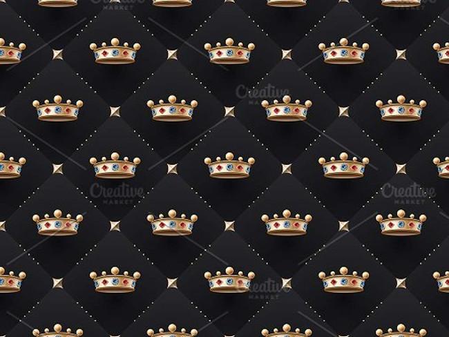 gold crown pattern 13