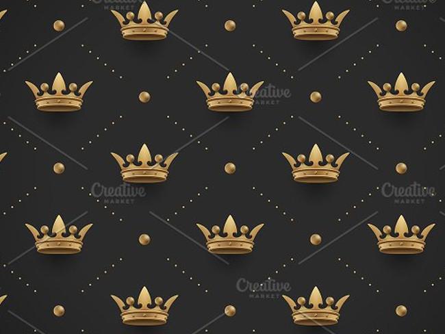 gold crown pattern 14