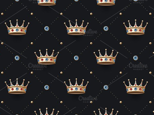 gold crown pattern 15