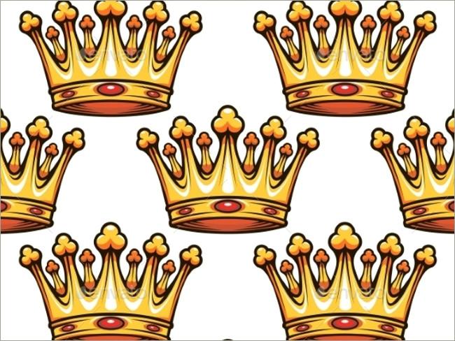 gold crown pattern 2