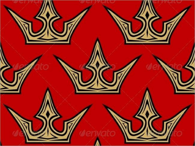 gold crown pattern 3