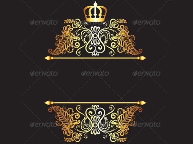 gold crown pattern 5