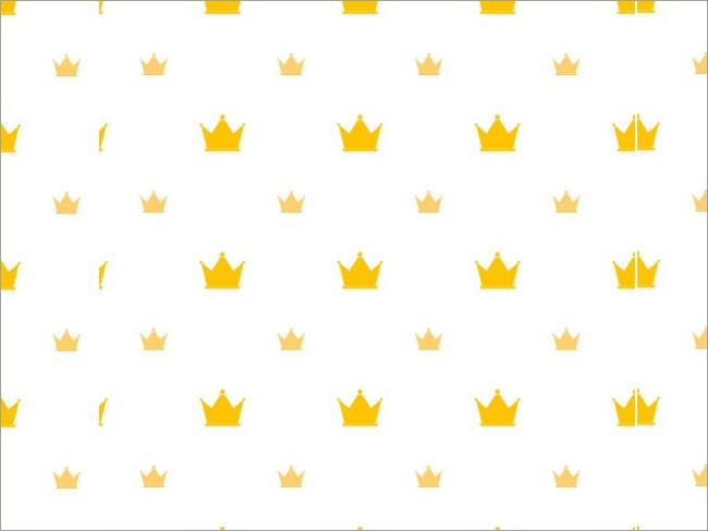gold crown pattern 7