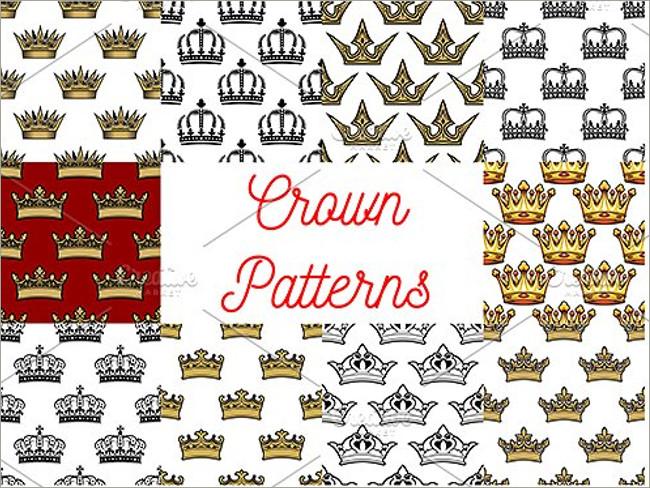 gold crown pattern 8