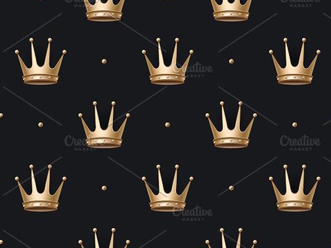 gold crown pattern 9