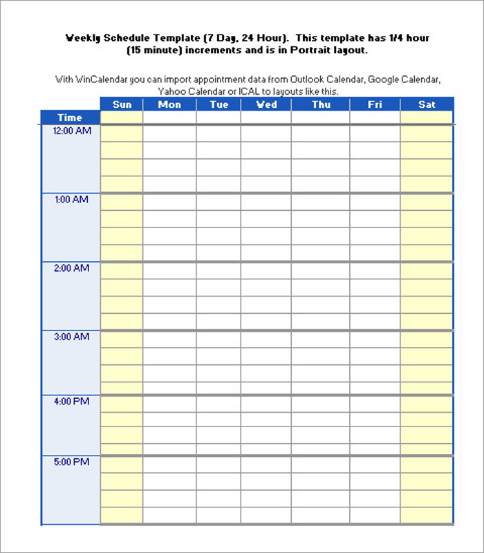 24 Hour Breastfeeding Diary Schedule Template Form
