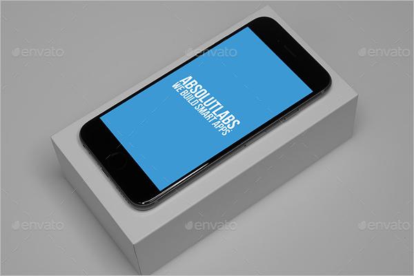 iPhone 6 Showcase Mockup Design