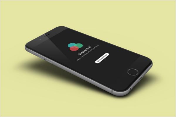 iPhone 6r Mockup Design