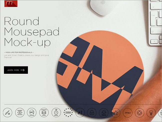 mouse pad mockeup psd 1